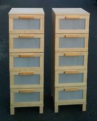Ikea Aneboda Dresser Measurements by Two Ikea Aneboda Chest Of 5 Drawers Storage Organiser