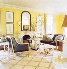 Sweet Yellow Gray Living Room Decor Quiet Design With Awesome