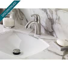 Brushed Nickel Bathroom Faucets by Brushed Nickel Selia Single Control Centerset Bath Faucet F 042