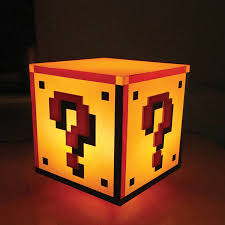 super mario question block light robert dyas