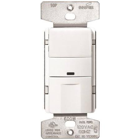 Cooper Wiring Devices Sensor - White