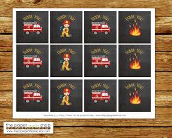Fireman Favor Tags | Fireman Firefighter Fire Truck Party ... Fire Truck Birthday Party Mommyapolis Amazoncom Lunch Plates 8ct Toys Games Firetruck Cake On Central Hudson Pinterest Firetruck Cupcake Toppers By That Chick Firefighter A Vintage Anders Ruff Custom Designs Llc Ideas B24 Youtube Favor Matchbook Made Out Of Card Stock With Pretzel Sticks Diy Monster Jam Truck Birthday Photo 4 15 Catch My Fireman Tags Stay At Homeista A Station