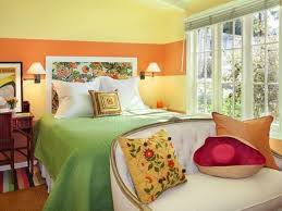 originelle schlafzimmer ideen für schöne deko mit bunten