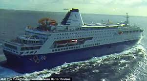 on board video footage reveals terror on cruise ships during