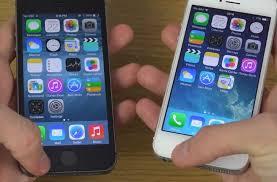 iOS 8 beta 4 vs iOS 7 1 2 speed on iPhone 5S PhonesReviews UK