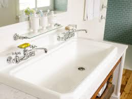 Small Trough Bathroom Sink With Two Faucets by Bathroom Sink Oval Bathroom Sinks Bathtub Faucet Glass Vessel
