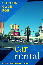 Car Rental Coupon Code | Highlights From Green Vacation ...
