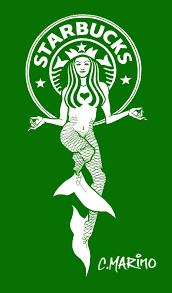 Drawn Starbucks Mermaid 5