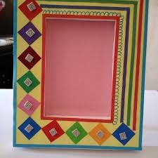 How To Make Handmade Photo Frames With Paper Step