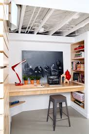 Basement Office Space Awesome 7 Inspiring Home Offices That Make The Most Of A Small