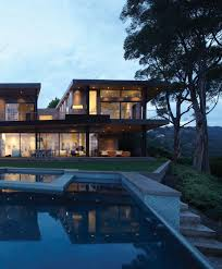 100 Griffin Enright Architects Unveiled Mandeville Canyon Residence By