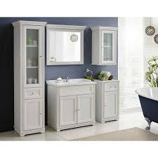 badezimmer hängeschrank im vintage landhausstil celaya 56 andersen pine weiß b x h x t ca 48 x 76 x 32cm