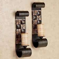 mosaic wall sconce candle holders candles mosaic