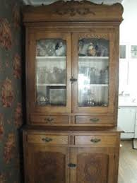 SALE Antique farmhouse kitchen cabinet pie safe cupboard wavy