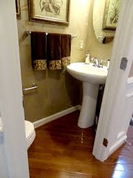 Narrow Bathroom Ideas Pictures by Small Narrow Half Bathroom Ideas The Half Bath Is Just Beyond