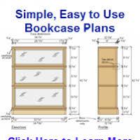 bookcase woodworking plans thesecretconsul com