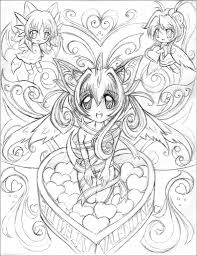 Anime Coloring Pages Various Colotring