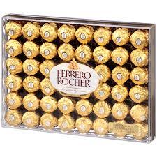 Ferrero Rocher Christmas Tree Stand by Ferrero Rocher Fine Hazelnut Chocolates 21 2 Oz Pack Walmart Com