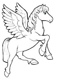 Unicorn Coloring Games Page Flying Pages Realistic For Adults