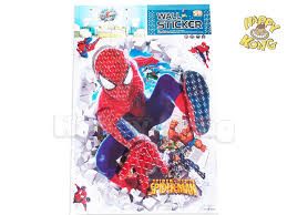 Large Spiderman Room Decor 5D Wall Sticker