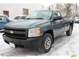 2007 Chevrolet Silverado 1500 Work Truck Regular Cab 4x4 In Blue ...