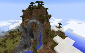 Minecraft Pumpkin Seeds Pe by Large Island With Savanna And Overhangs Minecraft Seed Hq