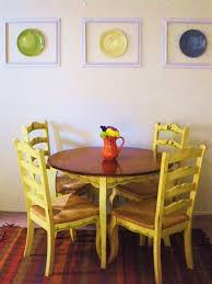 I Was Searching For The Right Wall Decor To Decorate My Dining Area In An Inexpensive Cute And Unique Way Inspired By Some Of Dish Ive Seen On