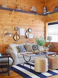 For All Over Rustic Living Room Warmth You Cant Go Wrong With