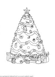 Christmas Tree Coloring Pages Book 25