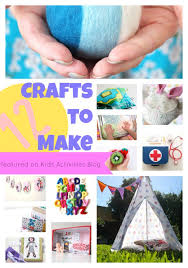 12 Crafts To Make At Home Today Easy Craft Ideas For Kids And