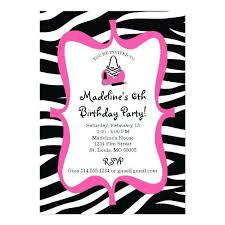 Birthday Part Invitations Spa Birthday Party Invitations Pink