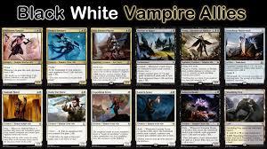 mtg deck standard my black white allies rally budget standard deck