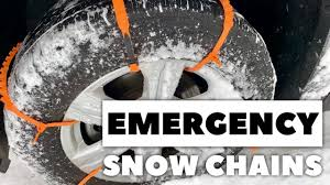 100 Snow Chains For Trucks Get Your Vehicle Unstuck From With Emergency Zip Tire