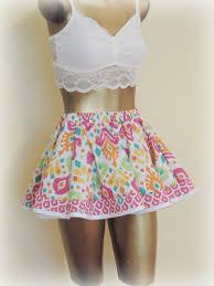 womens mini skirt twirl skirt teen clothes teen summer skirt
