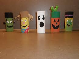 Toilet Paper Roll Halloween Creations