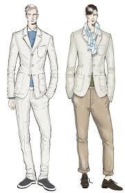 Drawn Man Fashion Illustration 3