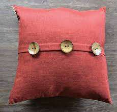 Red Decorative Pillows by Inspirations Textured Pomegranate Wine Red Throw Pillow