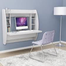 Ikea Floating Desk Shelf by Furniture White Ikea Floating Desk With Upholstered Chair And