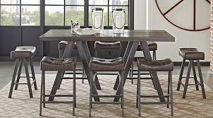 Wexler Brown 10 Pc Counter Height Dining Set