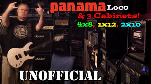 2x10 Bass Cabinet Shootout by Which Is Your Fav Cab For The Panama Loco Youtube