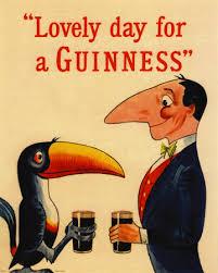 Vintage Lovely Day For A Guinness Beer Art Print