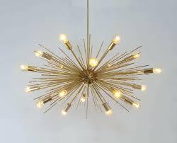 Chandelier Modern Lamps Mid Century Flush Mount Lighting Desk