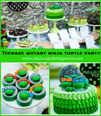 Ninja Turtle Decorations Ideas by Teenage Mutant Ninja Turtle Party Giveaway U2013 A To Zebra Celebrations