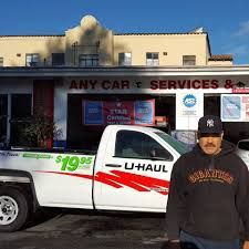 100 Star Truck Rentals UHaul Neighborhood Dealer Rental Burlingame California