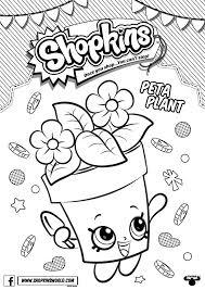 Shopkins Printable Kids ColouringColouring PagesShopkin