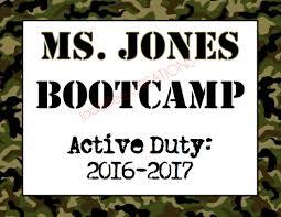 Army Camo Bathroom Decor by Classroom Bootcamp Sign Army Camo Theme