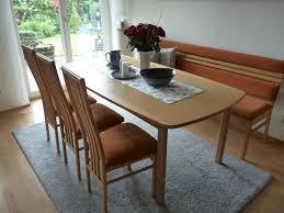 esszimmer essecke bank tisch ausziehbar 6 stühle top zustand