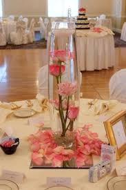 Spring Wedding Table Centerpiece Idea