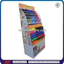 TSD C272 Pos Retail Store Pen Display Standstationery Rackcardboard Stationery