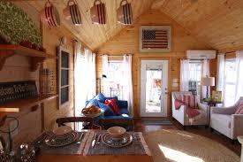 Tuff Shed Cabin Interior by Savannah Rustic River Park Homes